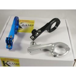 Support à déport en aluminium pour lampes Vélo/vtt