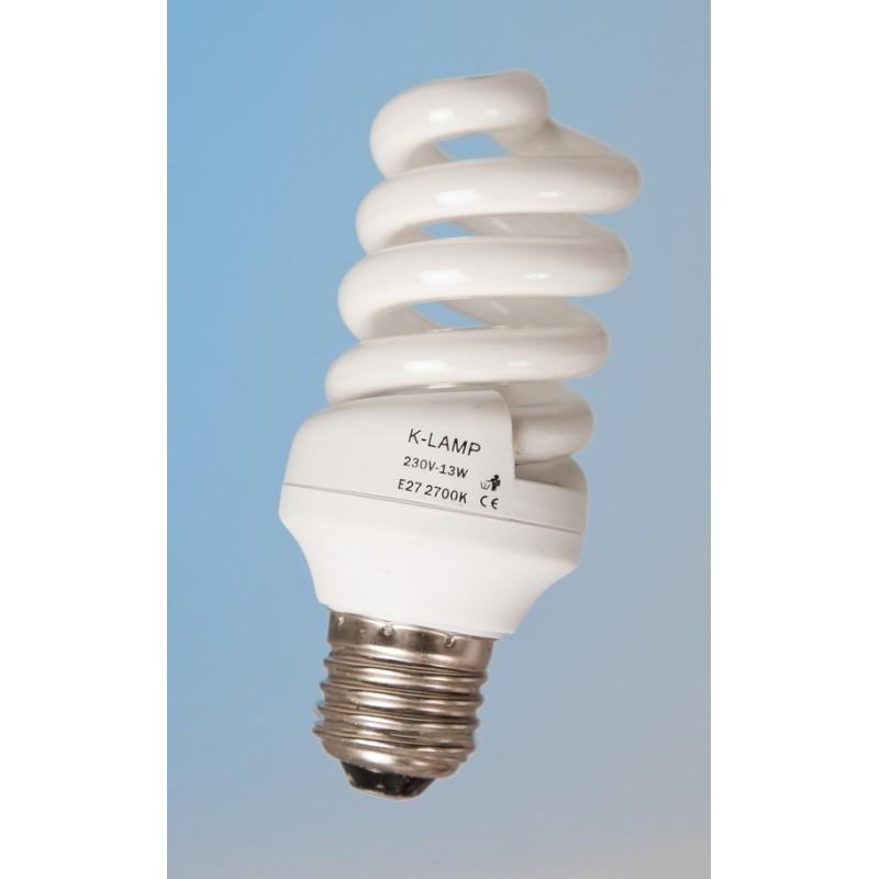 Ampoule basse consommation spirale 13w a vis e27 - Ampoule basse consommation gratuite ...